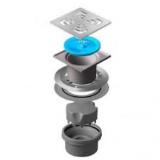 Точечный душевой трап Confluo Standard Vertical Square 13000019