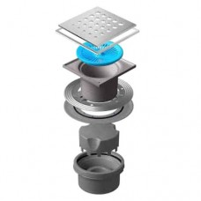Точечный душевой трап Confluo Standard Vertical Drops Mask 13000075