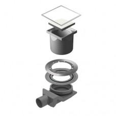 Точечный душевой трап Confluo Standard White Glass 4 13000096