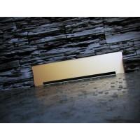 Пристенный душевой трап PEŠTAN Confluo Premium Wall Drain Gold
