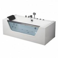 Гидромассажная ванна Frank F102 пристенная, 170х80х60см