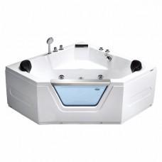 Гидромассажная ванна Frank F154 угловая, 150х150х60см