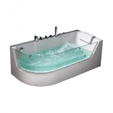 Гидромассажная ванна Frank F105L, 170х80х60см