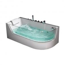 Гидромассажная ванна Frank F105R, 170х80х60см