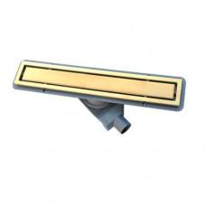 Душевой лоток Pestan Confluo Premium Gold Line 650 с решеткой