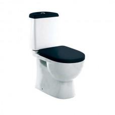 Унитаз напольный Sanita luxe Best Color сиденье дюропласт soft close чёрное