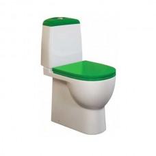 Унитаз напольный Sanita luxe Best Color сиденье дюропласт soft close зеленое